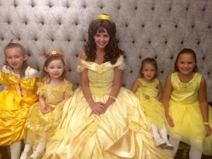 5 yellow princesses