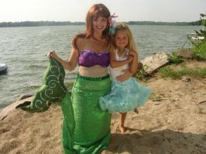 Ariel by water
