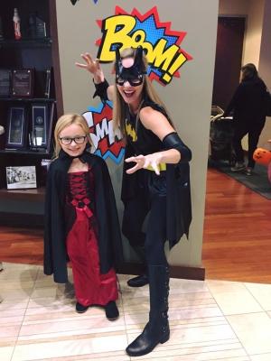 Batgirl with Mackenna