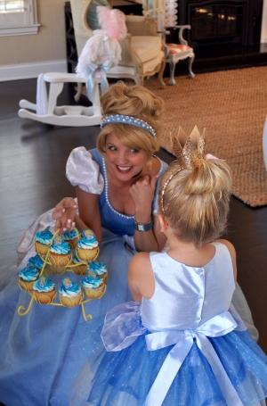Cinderella and cupcakes
