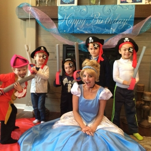 Cinderella and her pirates