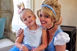 Cinderella and little princess