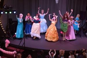 Princesses Dancing onstage