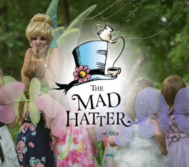 Fairy Garden Tea at Mad Hatter