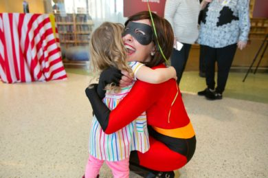 Superhero Day at U of M Masonic Children's Hospital