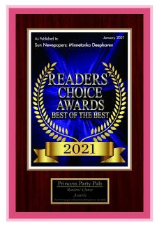 Readers Choice Award 2021 | Princess Party Pals